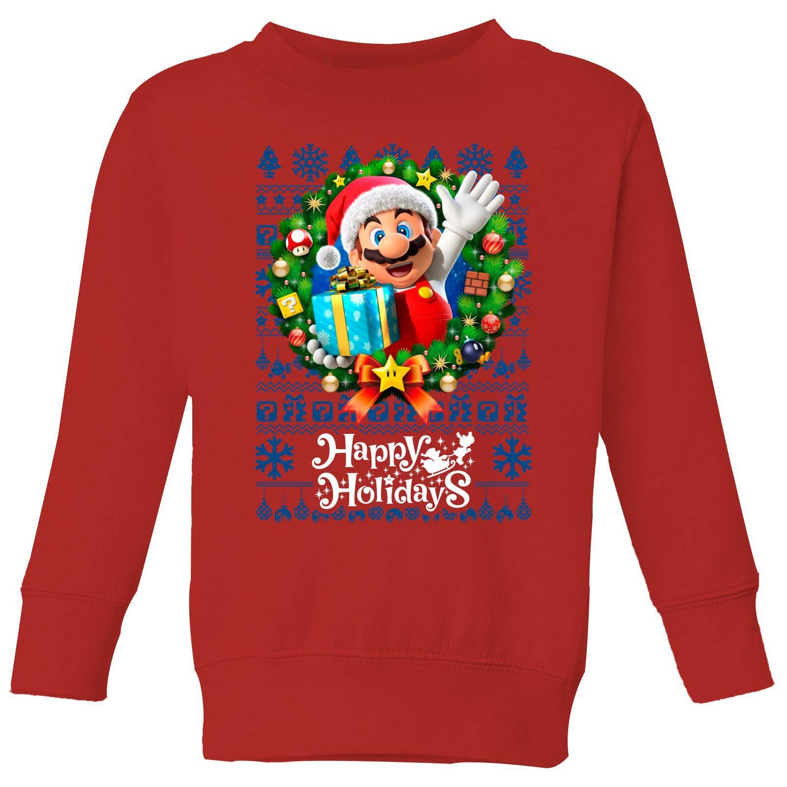 2 kinder kersttruien van bekende franchises voor €22 (Bijv Nintendo, Disney, Star Wars)