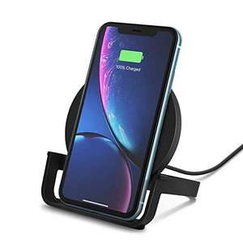 Belkin Wireless charger stand - 10W (Zwart/Wit)