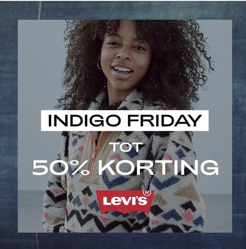 Indigo Friday tot 50% korting!