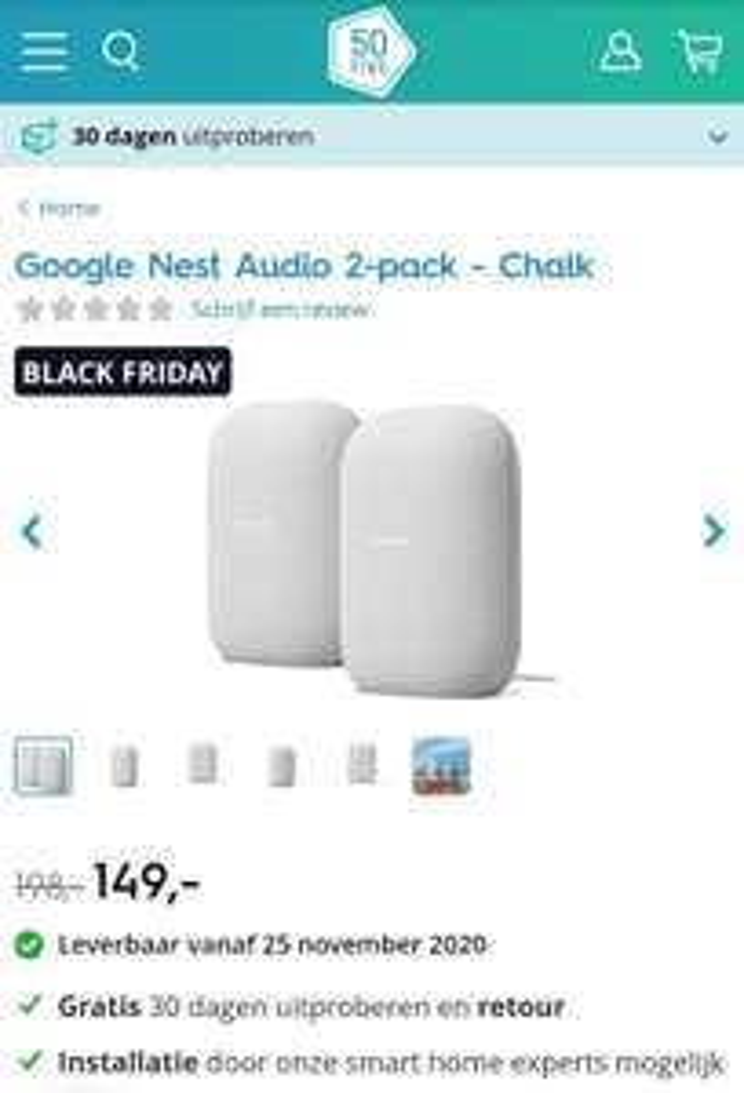 Google Nest Audio 2-pack