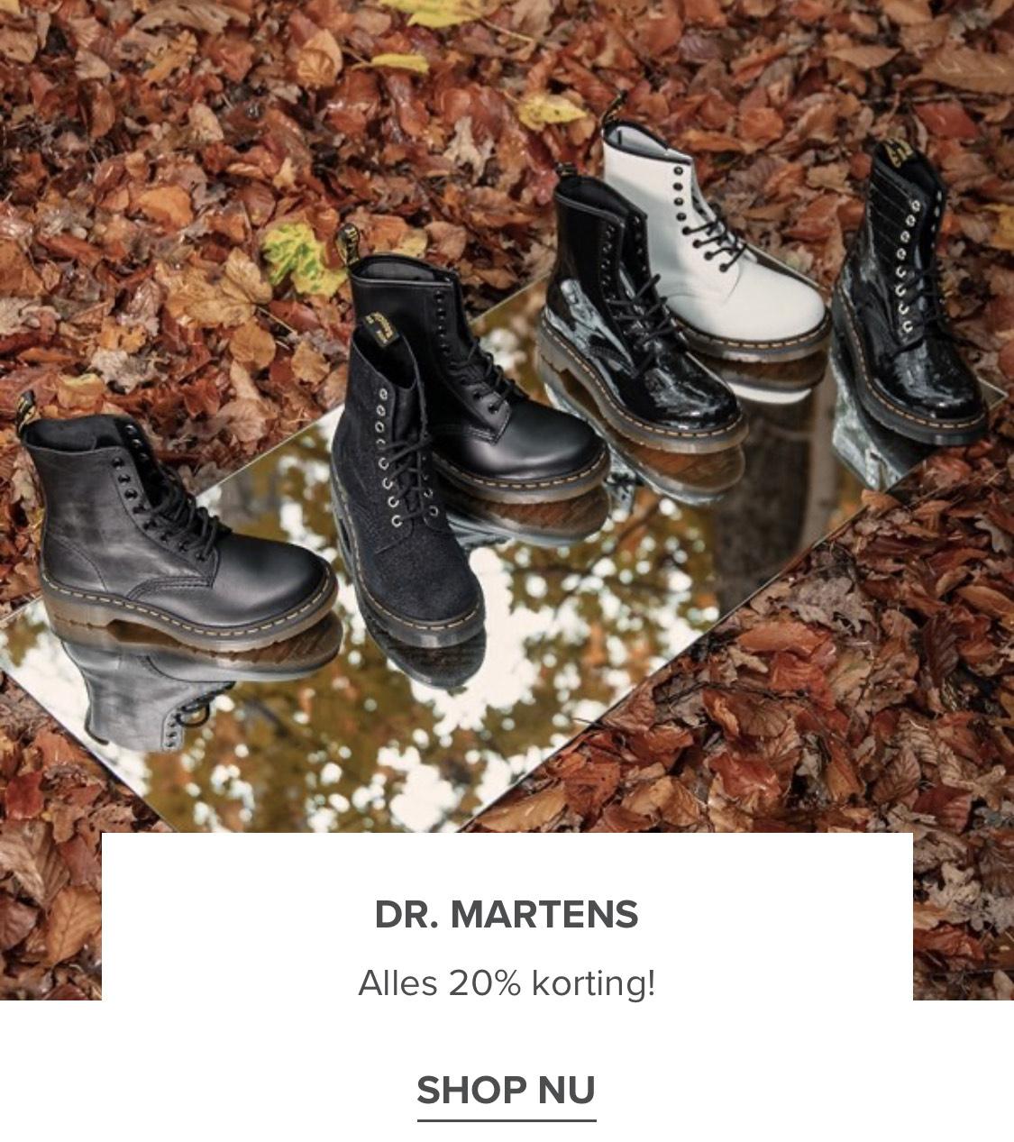 Dr. Martens alles - 20%