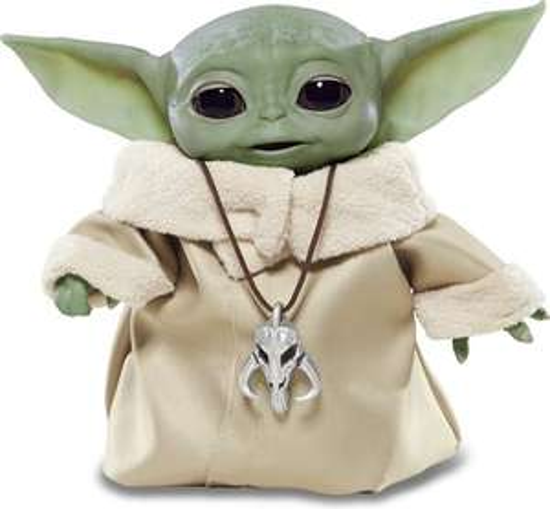 Yoda Star Wars The Mandalorian Animatronic Edition