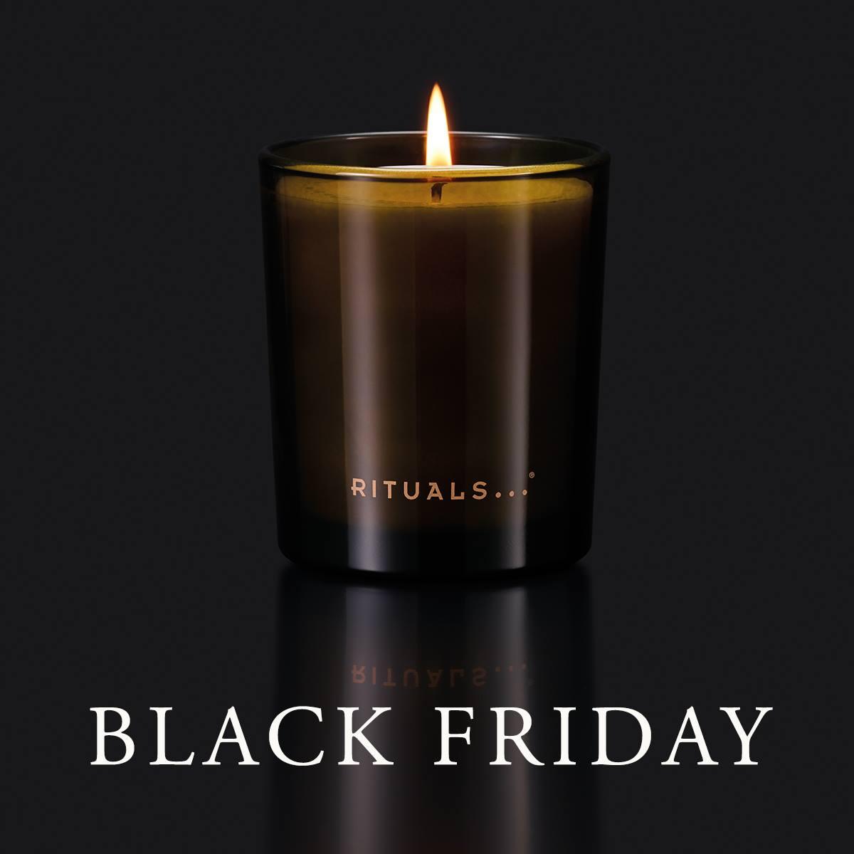 Rituals black friday: 20% korting op refills & gratis kaars bij 50 euro!