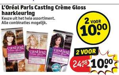L'Oreal Paris casting creme gloss haarkleuring