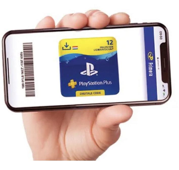 25% korting op Playstation Plus bij Primera