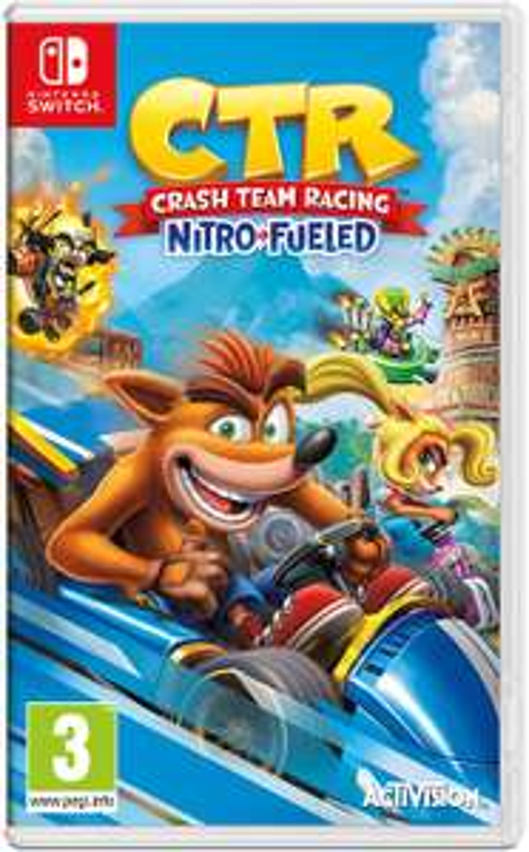 Crash Team Racing Nitro-Fueled - Nintendo Switch (Nintendo Switch)