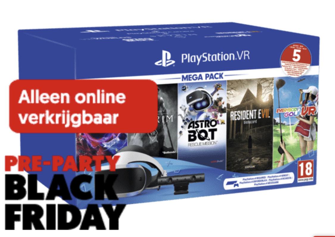 SONY Playstation VR Megapack II + 5 Games