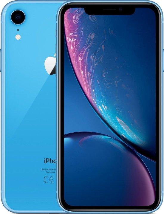 Apple iPhone XR - 64GB - Blauw - Refurbished