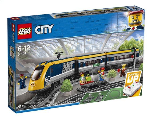 België - Lego Passagierstrein 60197 + Lego Treinrails 60205