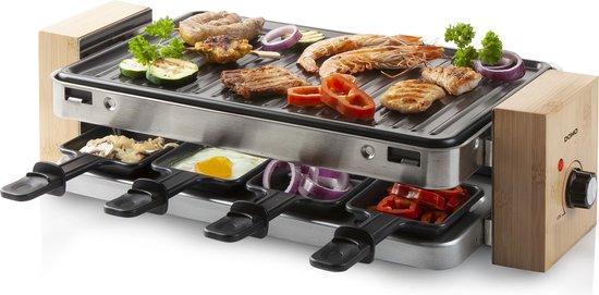 Domo DO9209G - Gourmetset/Racletteset - 8 personen