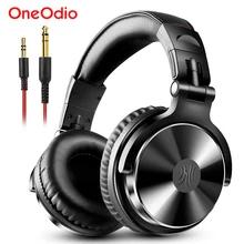 OneOdio Studio/DJ/Monitor wired headphone Standaard/Pro (Black) @AliExpress