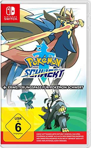 Nintendo Switch Pokemon Sword + Expansion Pass Duitse editie @amazon.de