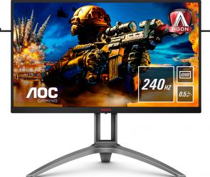 AOC AGON AG273QZ - 27 inch - 240Hz - Monitor