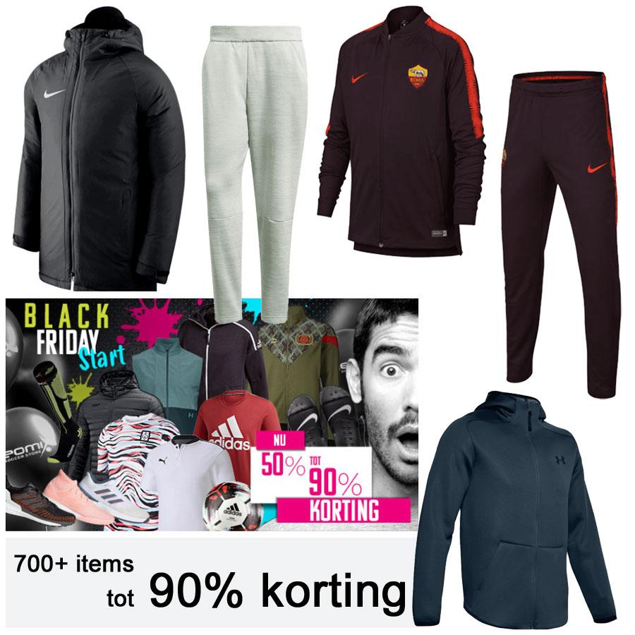 Alles 40-90% korting - zoals Nike kids trainingspak €39,97