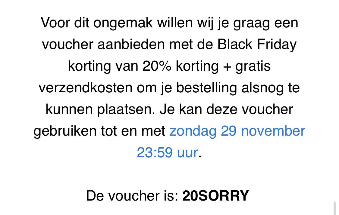20% korting + Gratis Verzending bij Otrium.nl