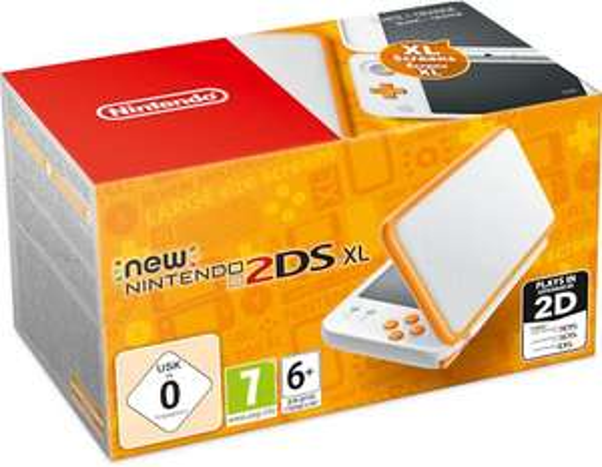 New Nintendo 2DS XL Console Wit/Oranje