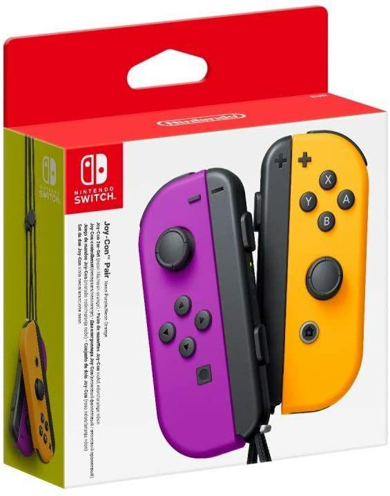 Nintendo Switch Joy-Con paars/oranje
