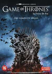 Game Of Thrones - The Complete Series. DVD €47,69 & Blu-ray €56,69 @ Bookspot.nl