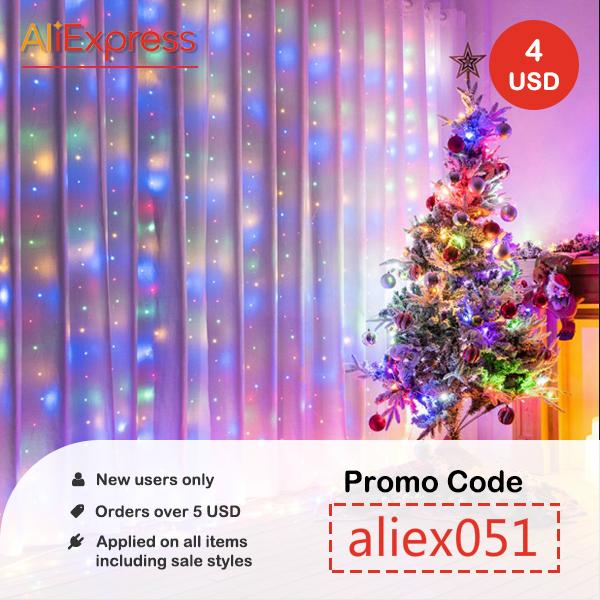 Kerstmis AliExpress kortingscode 3,33 euro - tot eind 2020 (nieuwe gebruikers)
