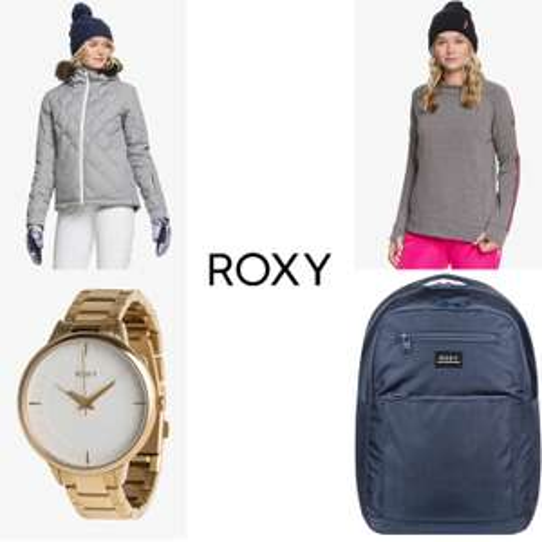 ROXY: 350+ items -64% korting - kleding // wintersport // tassen // accessoires