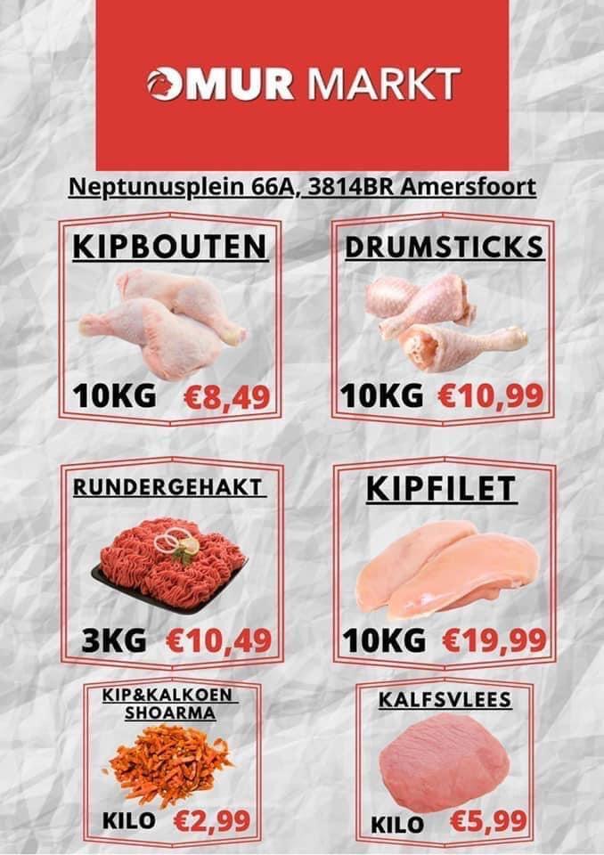 [lokaal] 10 kg kipfilet spot goedkoop