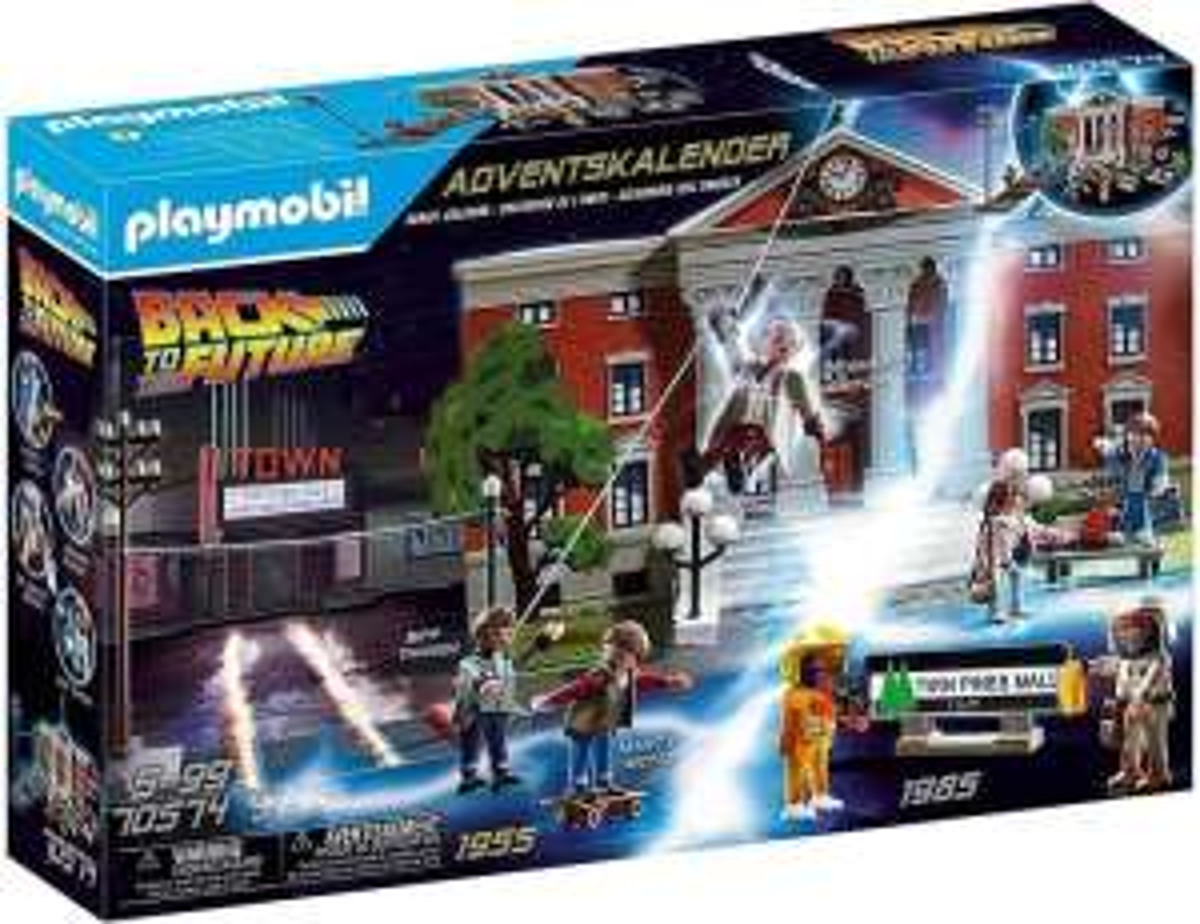 Playmobil 70574 Back to the Future adventskalender voor €14,69 @ Amazon NL / Bol.com