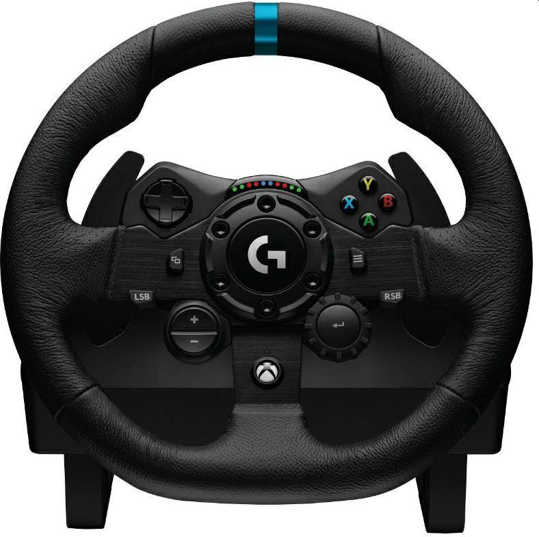 Logitech G923 Trueforce Sim Racing Wheel Xbox / PC Zwart