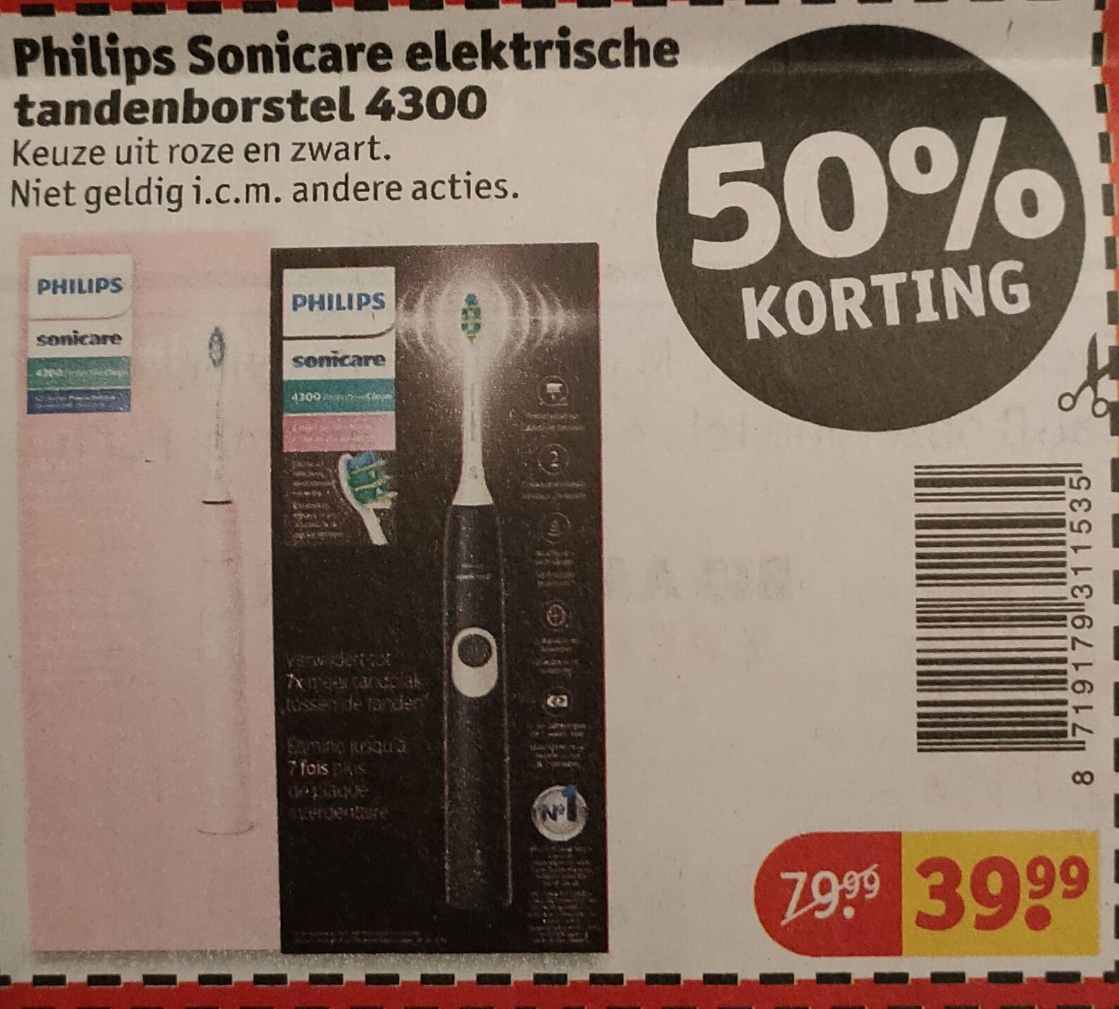 Philips Sonicare elektrische tandenborstel 4300