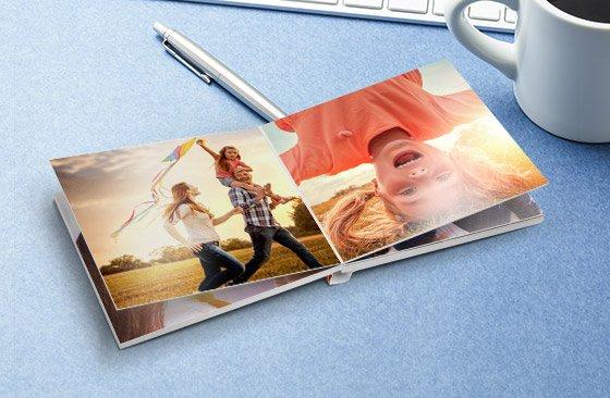 Printerpix gratis mini fotoboek (alleen verzendkosten)
