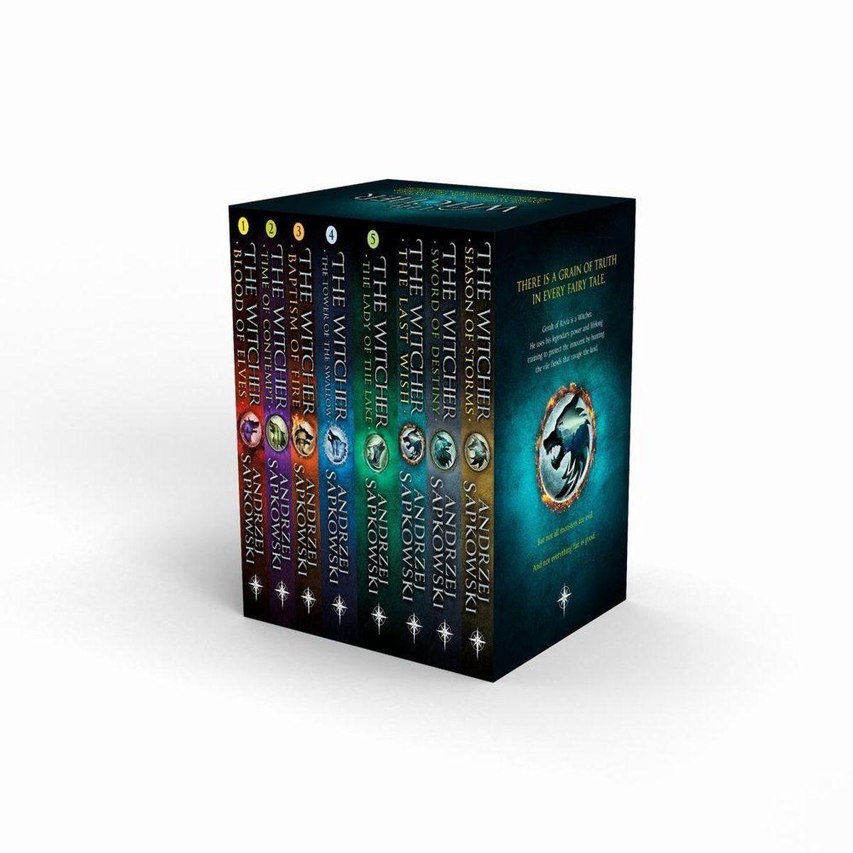 The Witcher Boxed Set boeken Engels