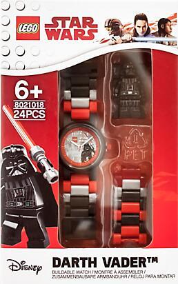 LEGO Star Wars Darth Vader minifiguurhorloge voor €12 @ Brickshop