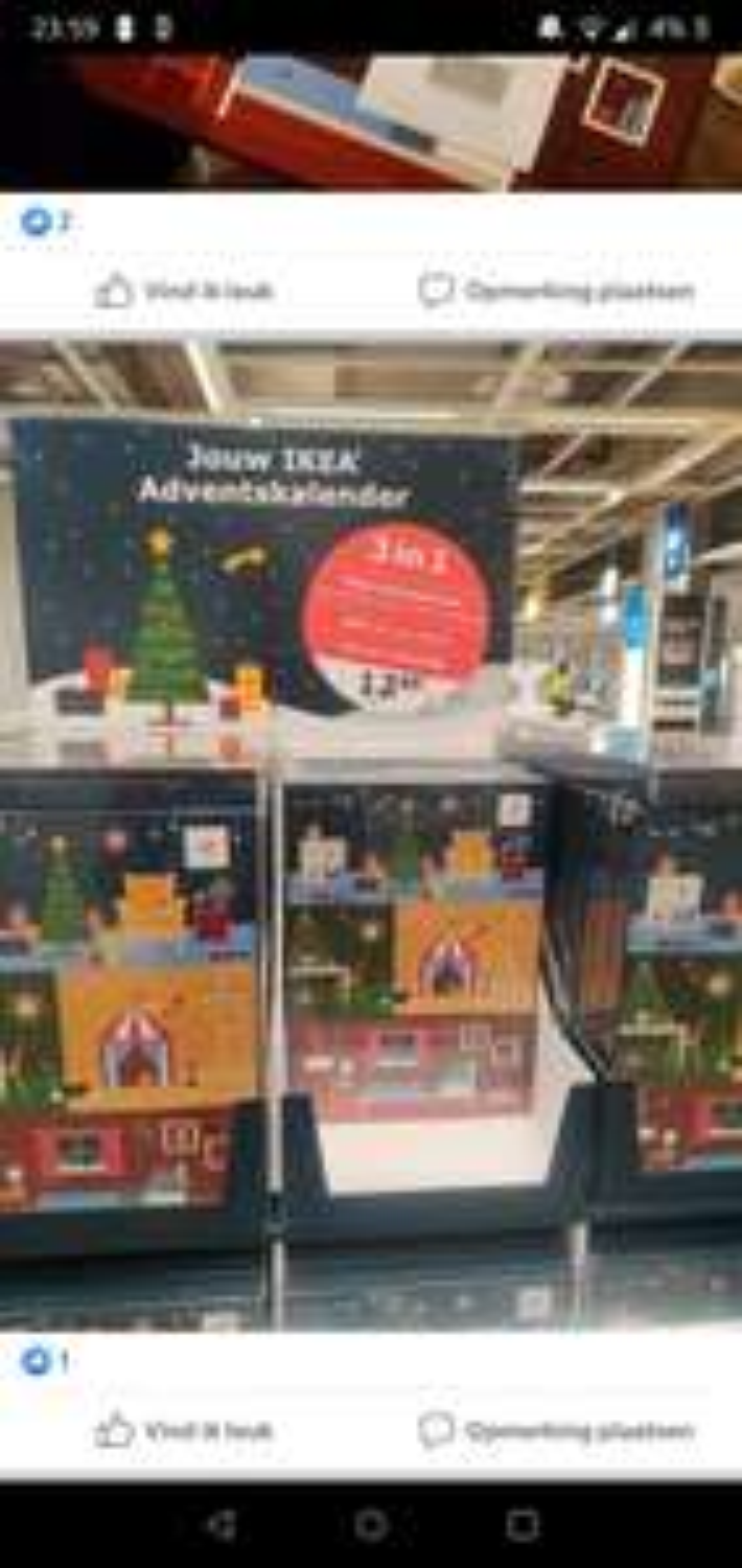 ]Grensdeal] -50% Adventkalenders in Ikea Gent