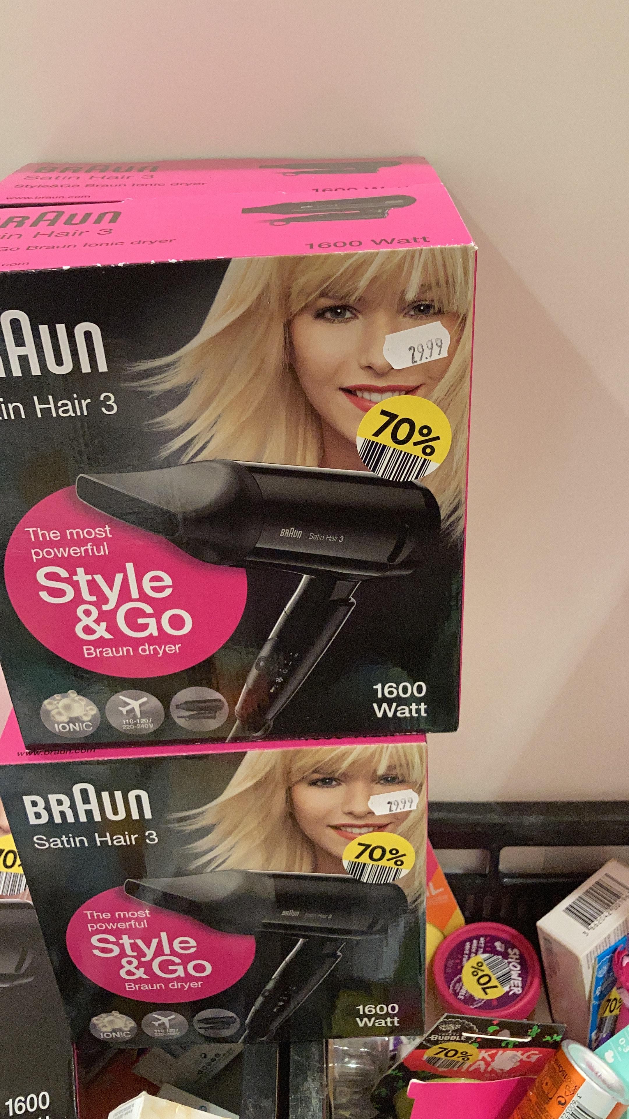 Braun Satin Hair 3 @ Etos
