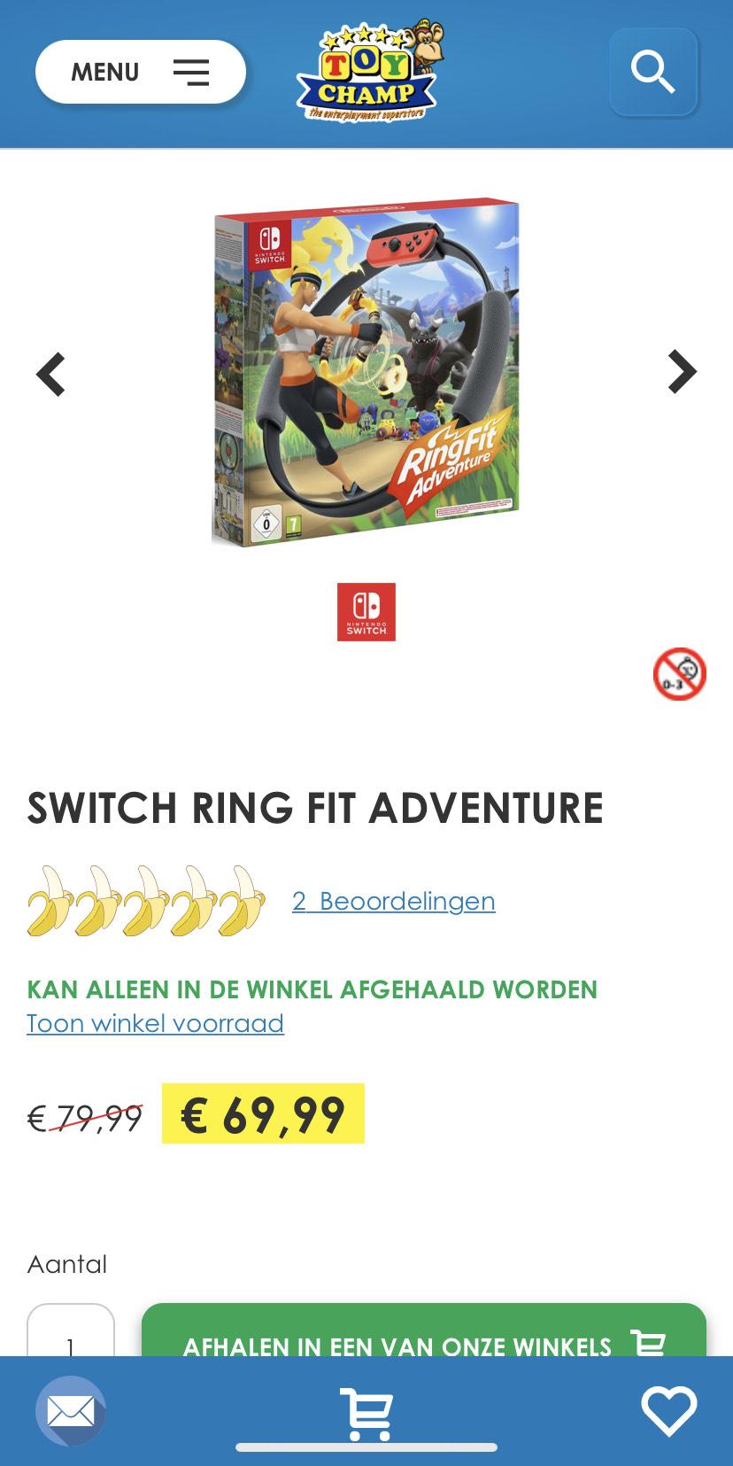 [Winkel] Switch Ring fit adventure