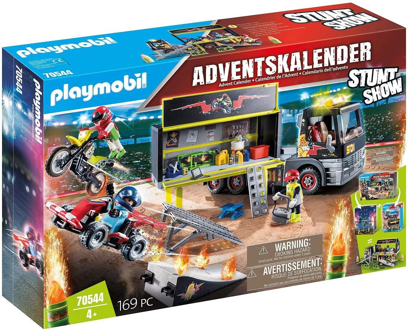 Playmobil XXL adventskalender 70544 Stuntshow @ Amazon.nl