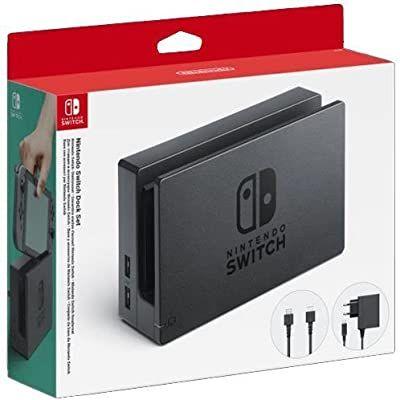 Nintendo switch docking station met oplader en hdmi kabel