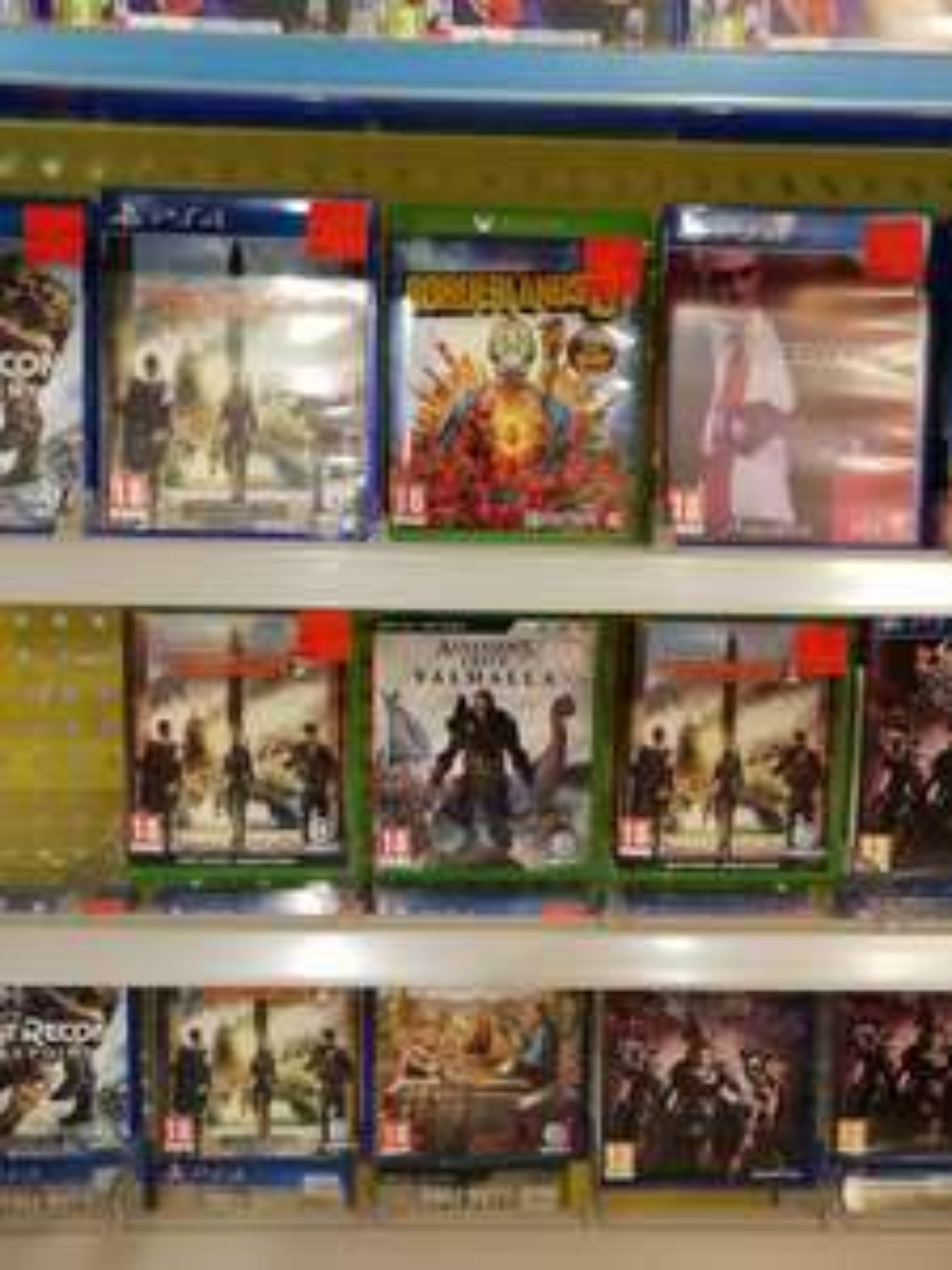 PS4 games bij Top1Toys, Heerhugowaard, wellicht landelijk (o.a. Hitman 2, The Division 2, Far Cry New Dawn, Ghost Recon: Breakpoint)