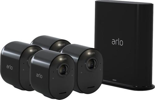 Beveiligingscamera's: Arlo Ultra 4K Zwart 4-Pack