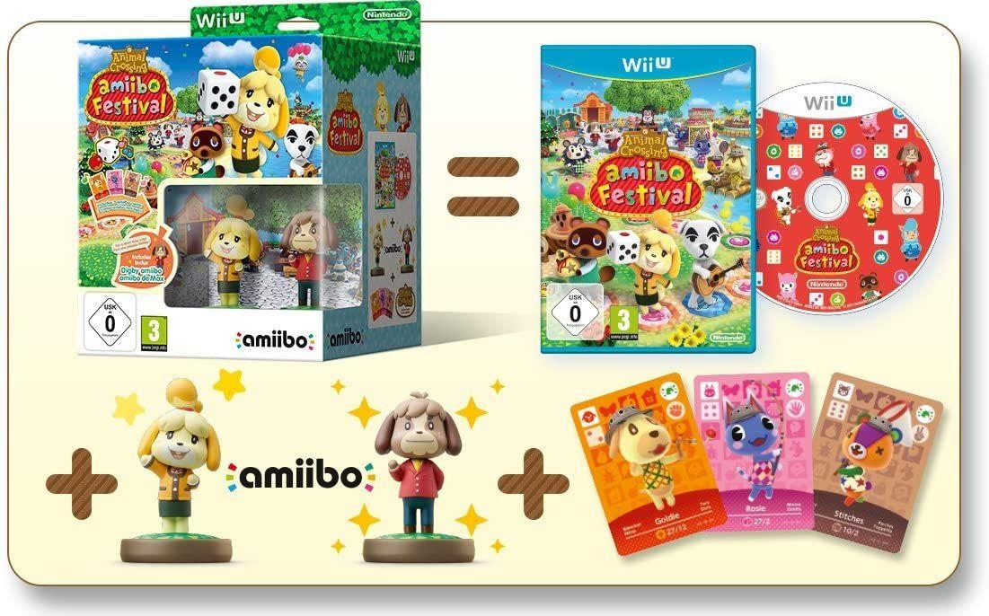 Animal Crossing: Amiibo Festival bundel (Nintendo Wii U)