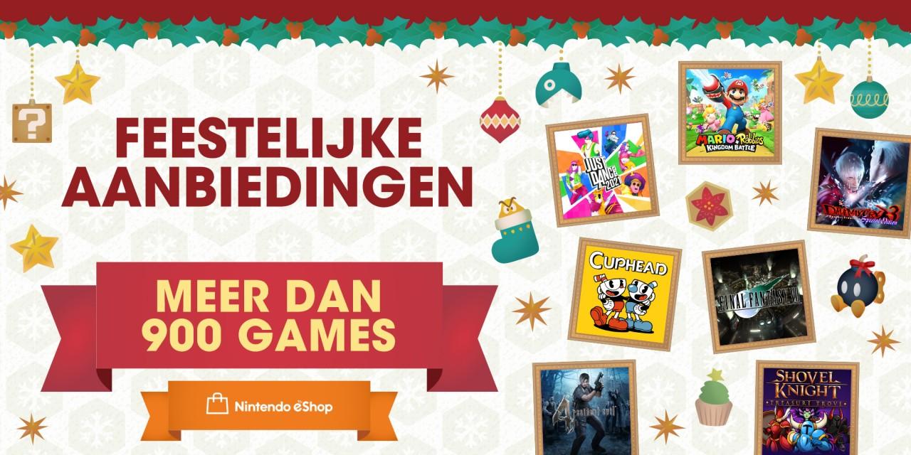 Nintendo eShop-korting tot 90% op meer dan 900 games, zoals Mario + Rabbids® Kingdom Battle, Overcooked 2 @ Nintendo Eshop