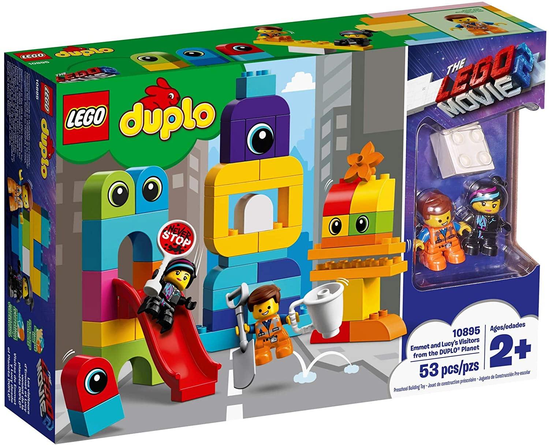 Lego 10895 Duplo Emmet en Lucy Planeet