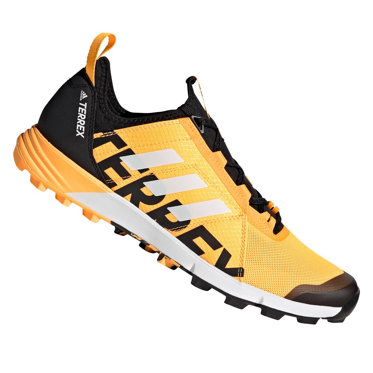 adidas Terrex Speed hardloopschoenen oranje/wit