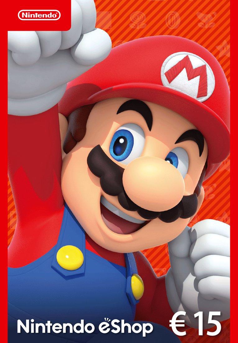 20% korting op Nintendo eShop Cards @ voidu.com