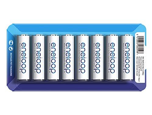 8 Eneloop batterijen AA via Amazon.de