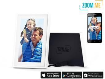 Wifi fotolijstje met app voor €45,99 @ iBood
