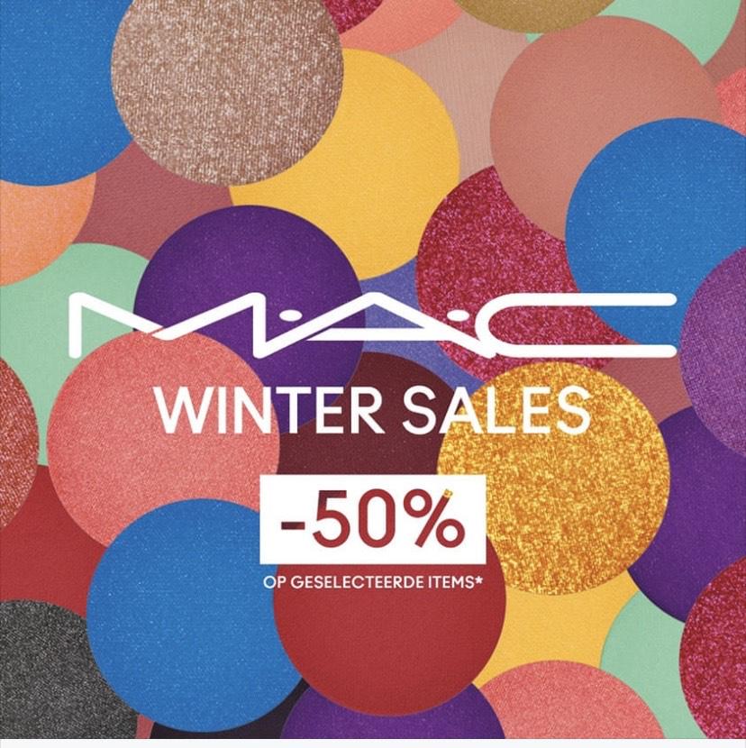 Mac cosmetics 50% op geselecteerde items