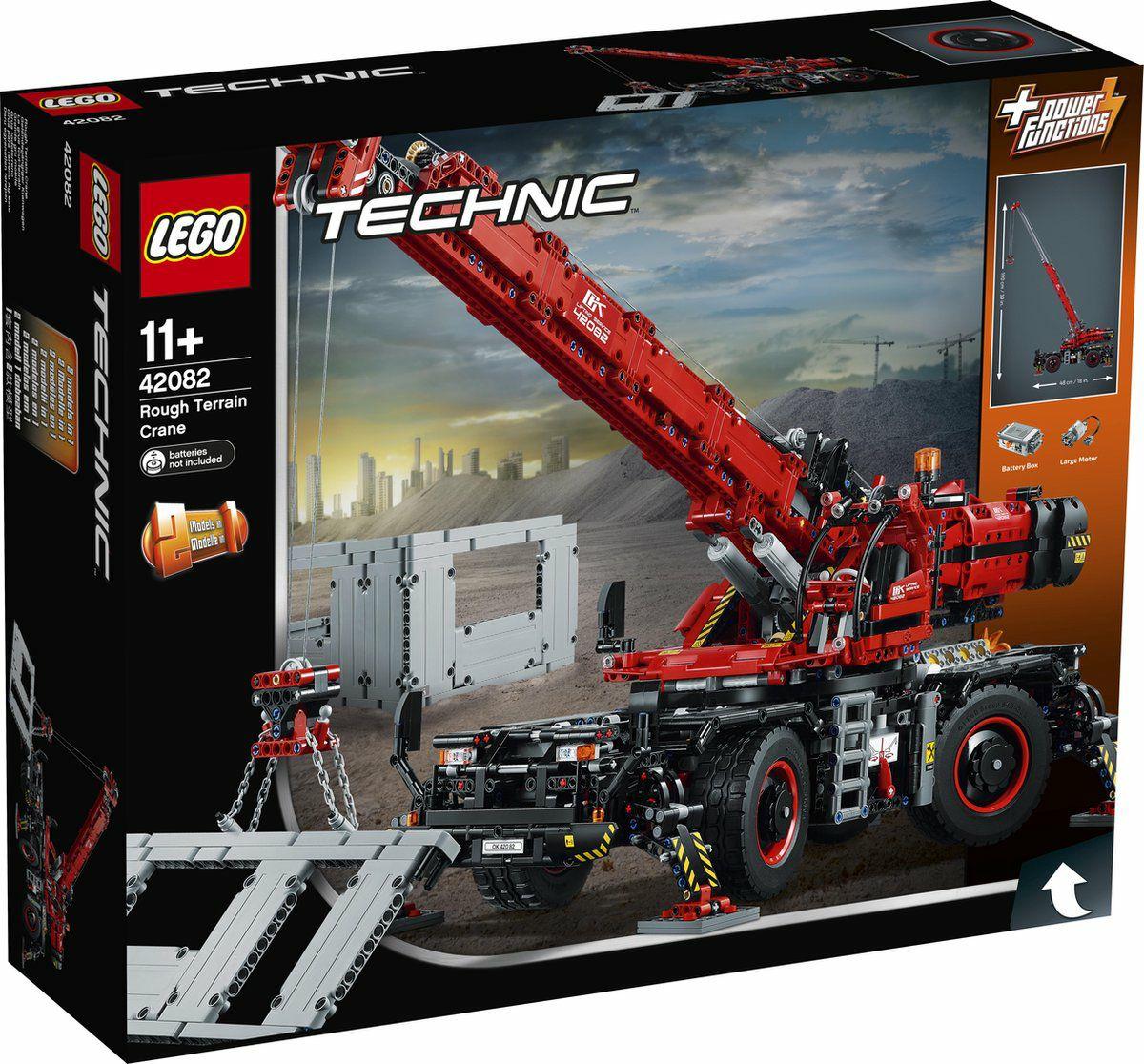 Lego Kraan voor alle terreinen 42082 (Retiring Soon)