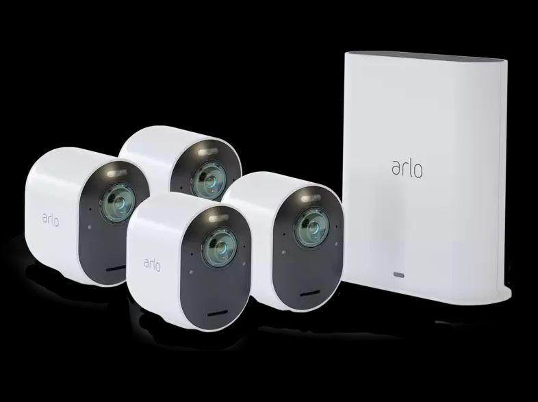 Arlo Ultra 4K - 4 stuks beveiligingscamera @Mediamarkt