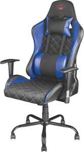 Trust GXT 707B Resto Gaming Chair (v2) Blauw @ Coolblue