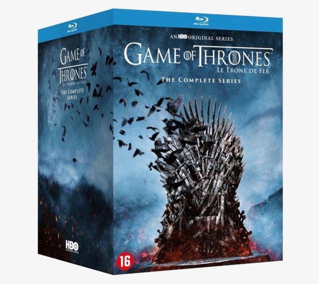 Game of Thrones blu-ray boxset